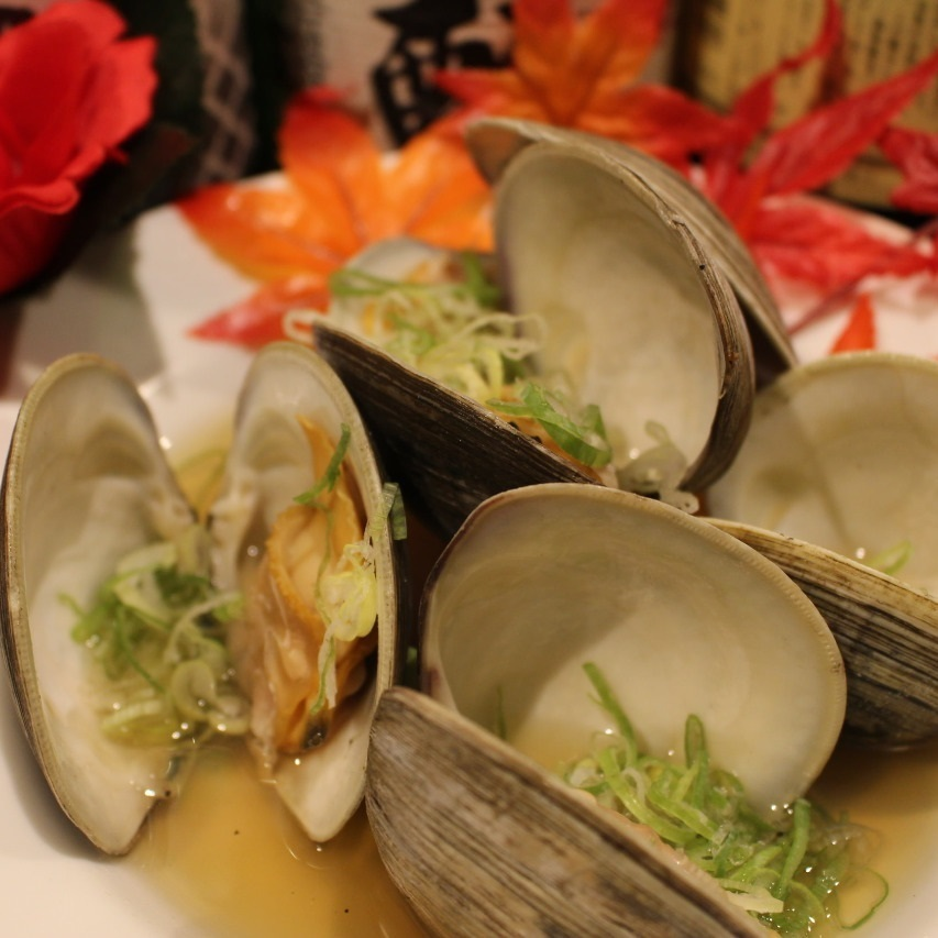 Steamed rice wine sauce ~ clams ~ 2 pieces