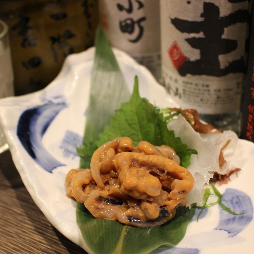 Squid salted fish