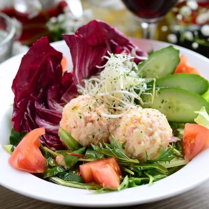 Yamagata beef beef potato salad