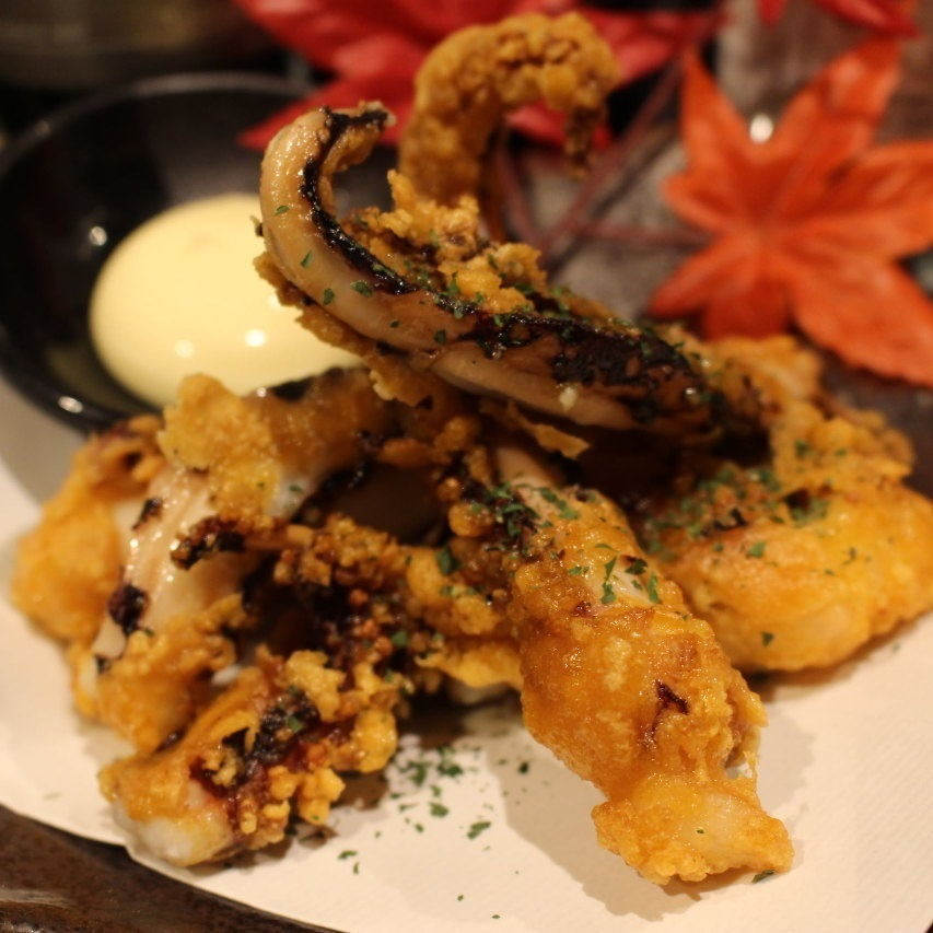 Deep-fried chicken breast