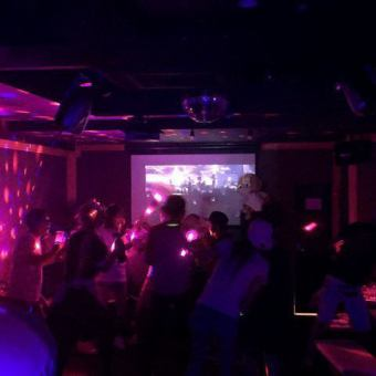 "Party until morning 【~ 5: 00 until 7 hours maximum with all you can drink】 All three items ""All night course"" 3000 yen ⇒ 1950 yen"