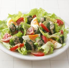新鮮的沙拉