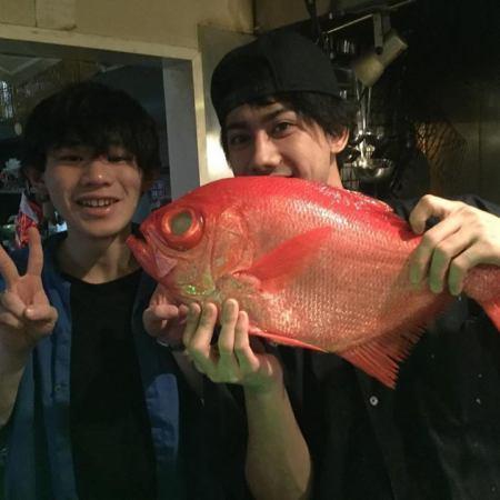 #牡蠣#お魚#平金目