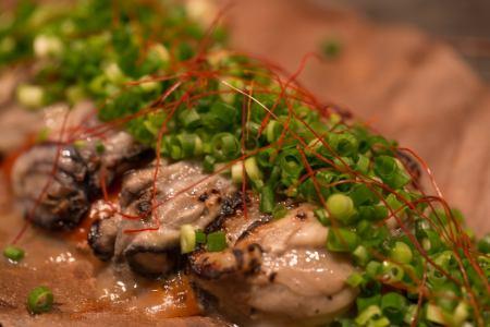 牡蠣の朴葉焼き 4粒