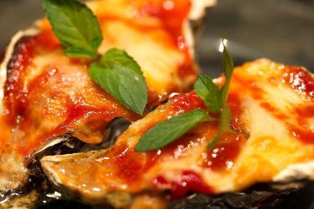 トマトチリチーズ焼き/ねぎ味噌焼き/ペペロンチーノ焼き/プレーンバター醤油