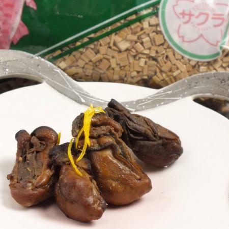 手作り牡蠣の燻製