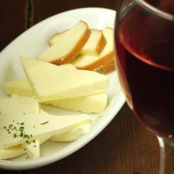 奶酪三個素