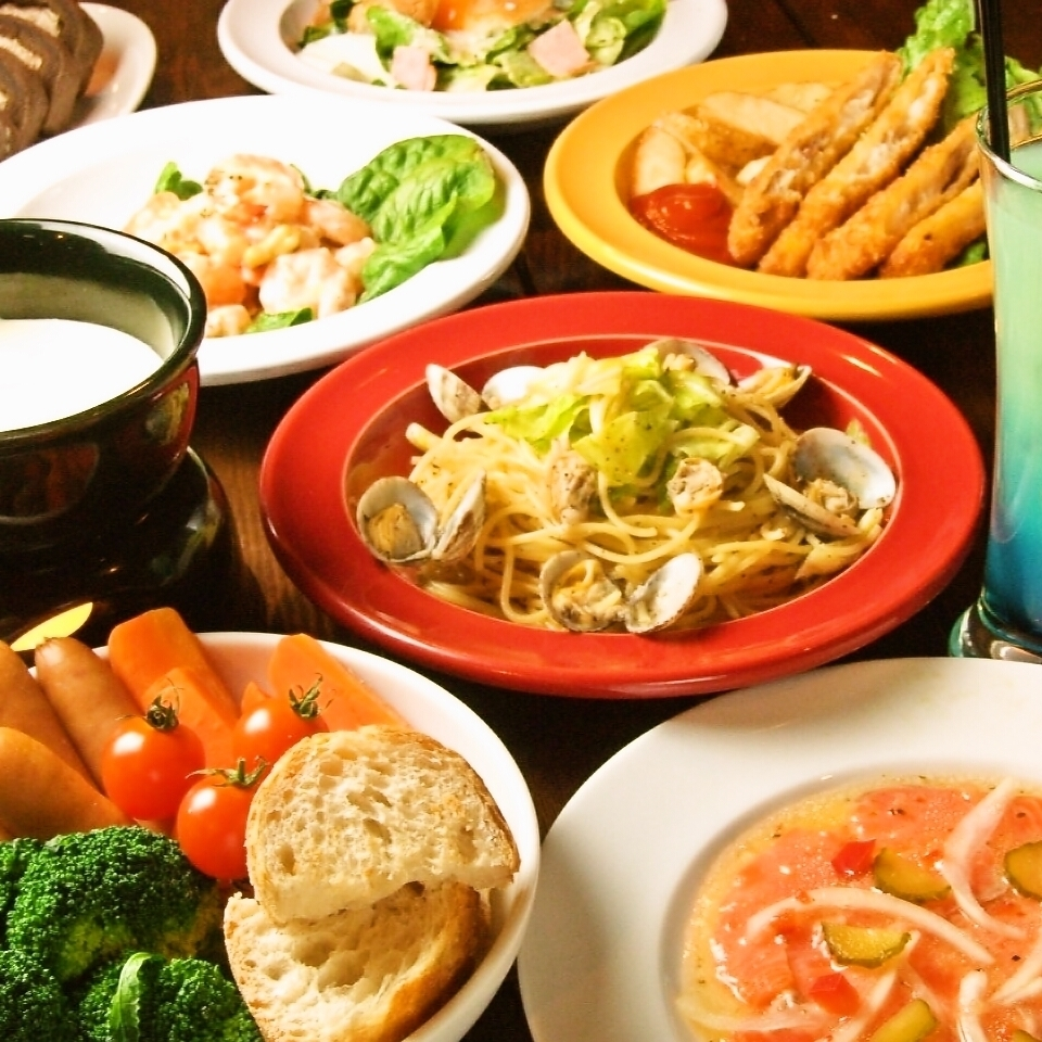 All-you-can-drink for 2 hours! Party plan total 7 items 2500 yen ★