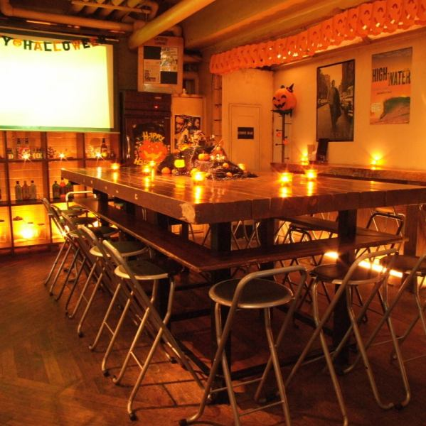 【Private place for 25 ~ 55 people OK!】 Large projector is also available! Party facilities are also ◎ shops, delightful fee! Various scenes including welcome party, farewell party, welcome party, farewell party, alumni association and circle gathering Ideal!