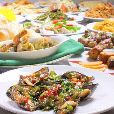 インド・ネパール料理に加えて、タイ・ベトナム系の料理もある『アジアンダイニング』