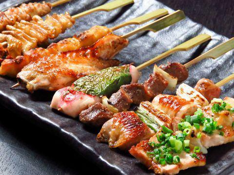 如果你吃烤鸡肉串【TAITAN】!1 90日元(不含税)〜