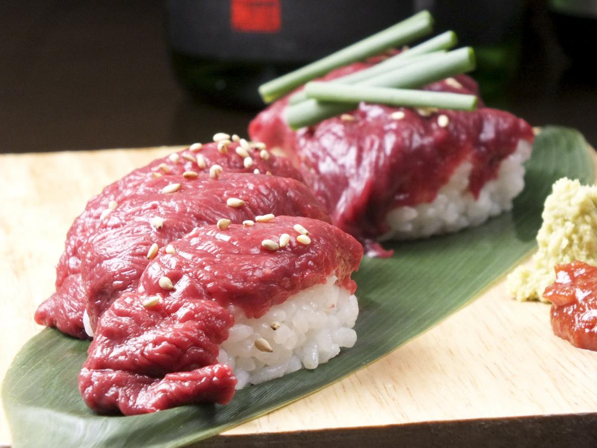Meat Sushi (6 sticks)