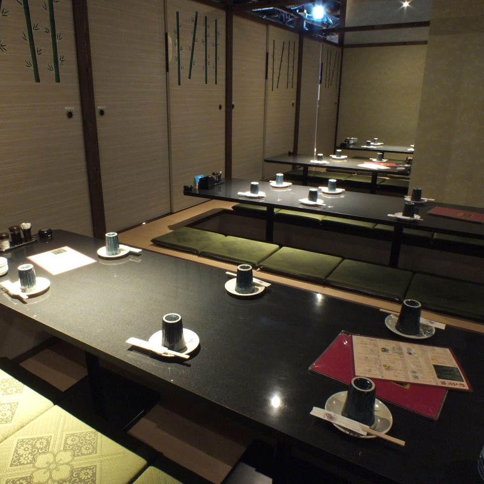 24 people or more in private room 【Maximum 200 people】 ★