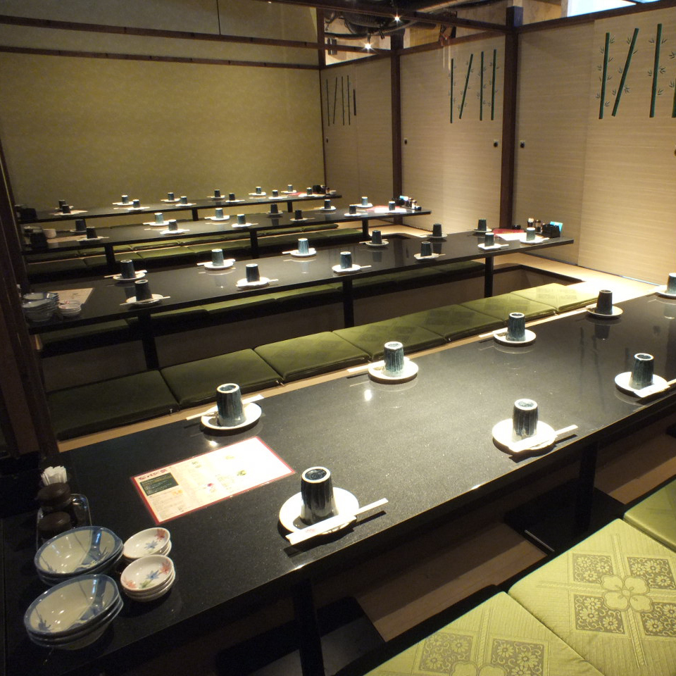 48 people or more in private room 【Maximum 200 people】 ★