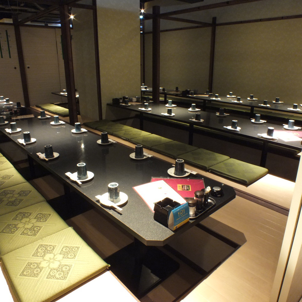 60 people or more in private room 【Maximum 200 people】 ★