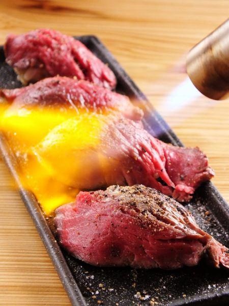 あぶり和牛肉寿司