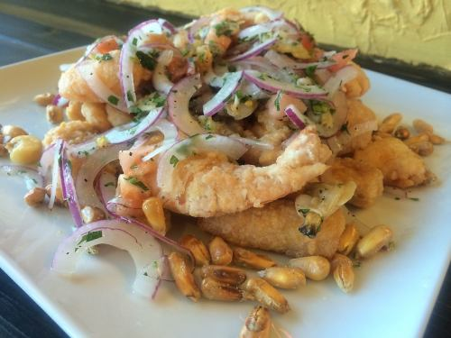 [JALEA] 白身魚とシーフードの盛り合わせ