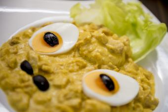 [AJI DE GALLINA] Simmered chicken with spicy cream