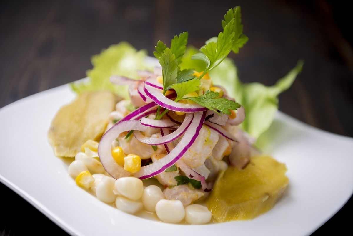 [CEBICHE] Marinated white fish