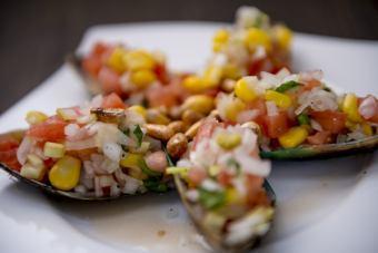 [CHOROS A LA CHALACA]醃製的貽貝