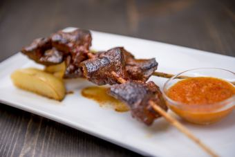 [ANTICUCHOS] Beef Hatsu skewers (1 bottle)