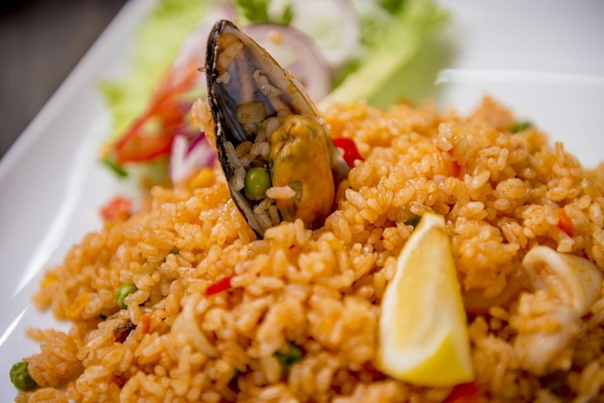 [ARROZ CON MARISCOS]海鮮米飯