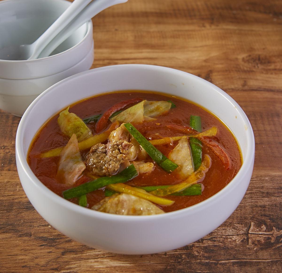 Yukkejan soup