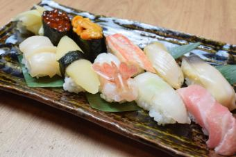 北上寿司把握10点
