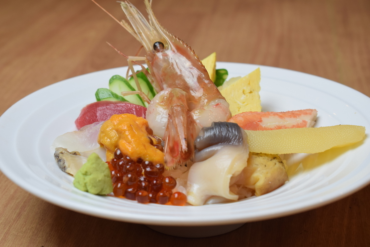 Seafood raw spirit special