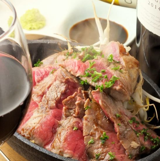 A4 Nagasaki beef steak · Iberico pork's rare steak! Meat dishes are exquisite!