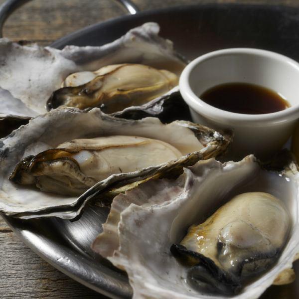 2種類の食べ方で楽しむ牡蠣メニュー
