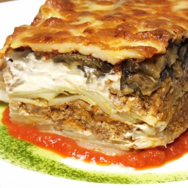 <Our one push !! Quantity limited> 7 layers of Greek style lasagna \ 1500