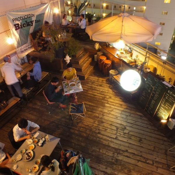 Beer garden in session ♪ Course booking prepared 5 floor floor available.Tend to be in the beer garden, take care of the weather in advance or take care of shop search etc. in the rain on the day without worry! Also relieved even at company's welcome reception and warm-up meetings ♪