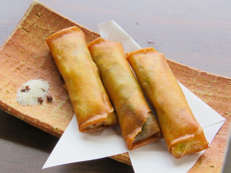 Spicy vegetable taste spring roll