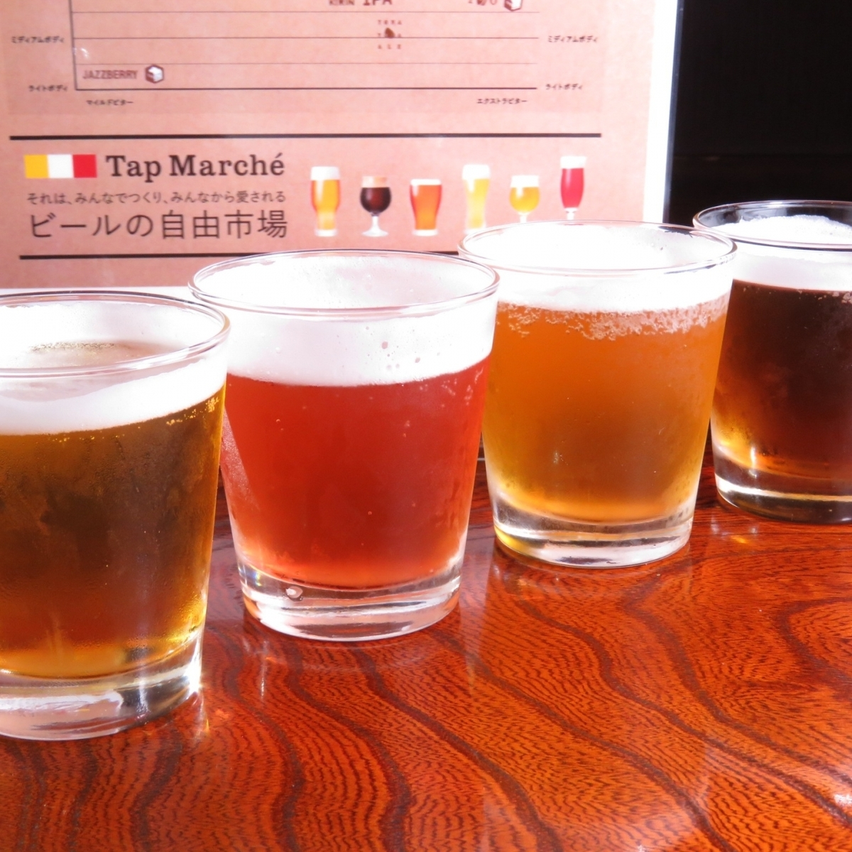 Tap Marche appeared ♪ drink compare the topical craft beer ♪