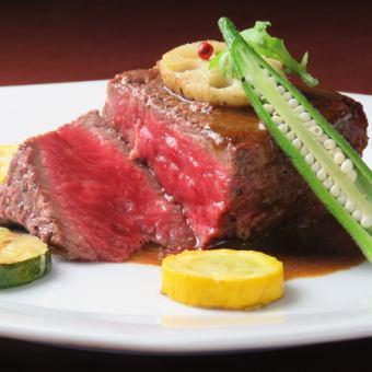 ■お魚かお肉を選べる♪ビストロ風のお気軽コース⇒3500円(税抜)