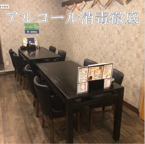 最大6名座れるテーブル席