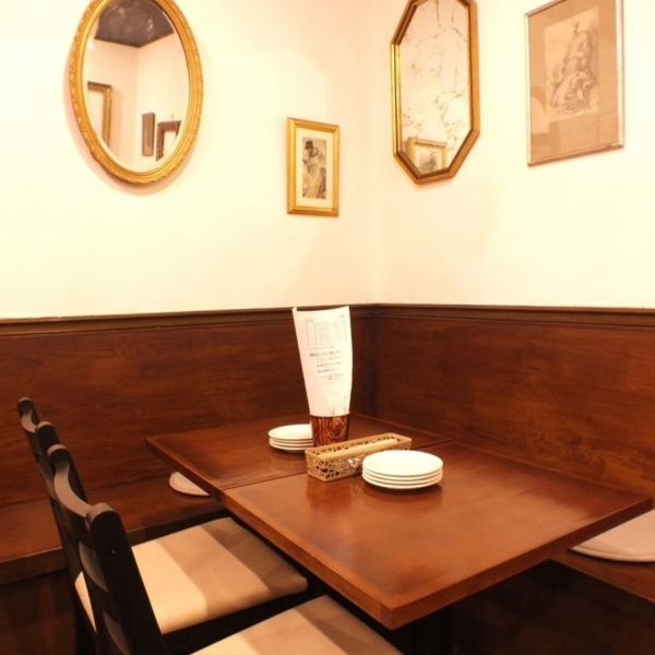 A lot of wines selected by the shopkeeper are 500 yen in glass, uniform in bottle 2800 yen, COSPA is outstanding! It is a bistro wine bar that you can feel free to use everyday without shoulder stretches.Please enjoy the wine and meal marriage in a cozy space.