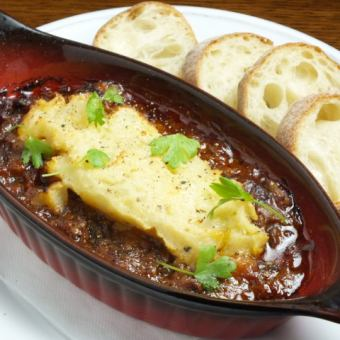 Braised beef stewed gratin