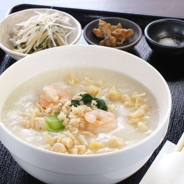 "Healthy and delightful for women ♪ ""Ginger porridge set"" you get with the commitment soup stock 700 yen"
