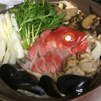 《150分飲み放題付き》絶品しんぷる鍋フルコース 5000円