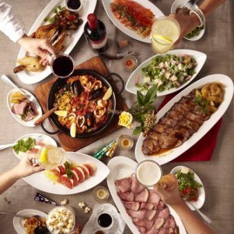 【10~12月限定コース】お肉もお魚も贅沢に!〔全10品〕5000円