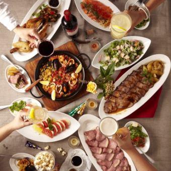 【10月 -  12月限定套餐】肉和魚都很豪華![共計10件] 5000日元