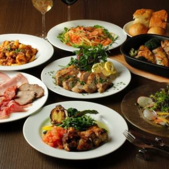 【Order Buffet】 Over 50 kinds of dishes and over 10 kinds of homemade dessert all you can eat ★ ★ 2980 yen