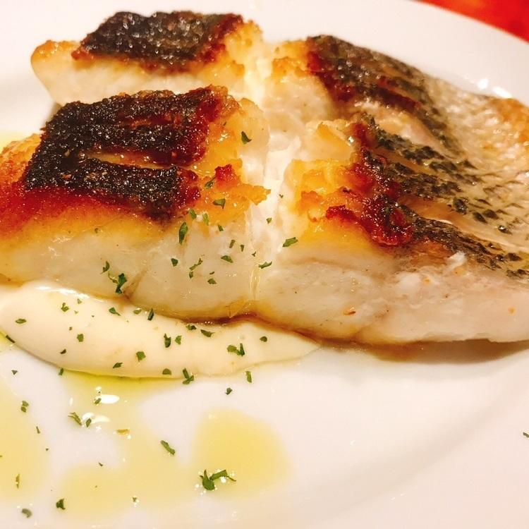 鮮魚のポワレ 日替わりソース