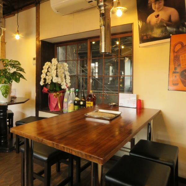 【2nd floor】 Table seat.Family, girls' association etc in various scenes! Banquet up to 12 people OK