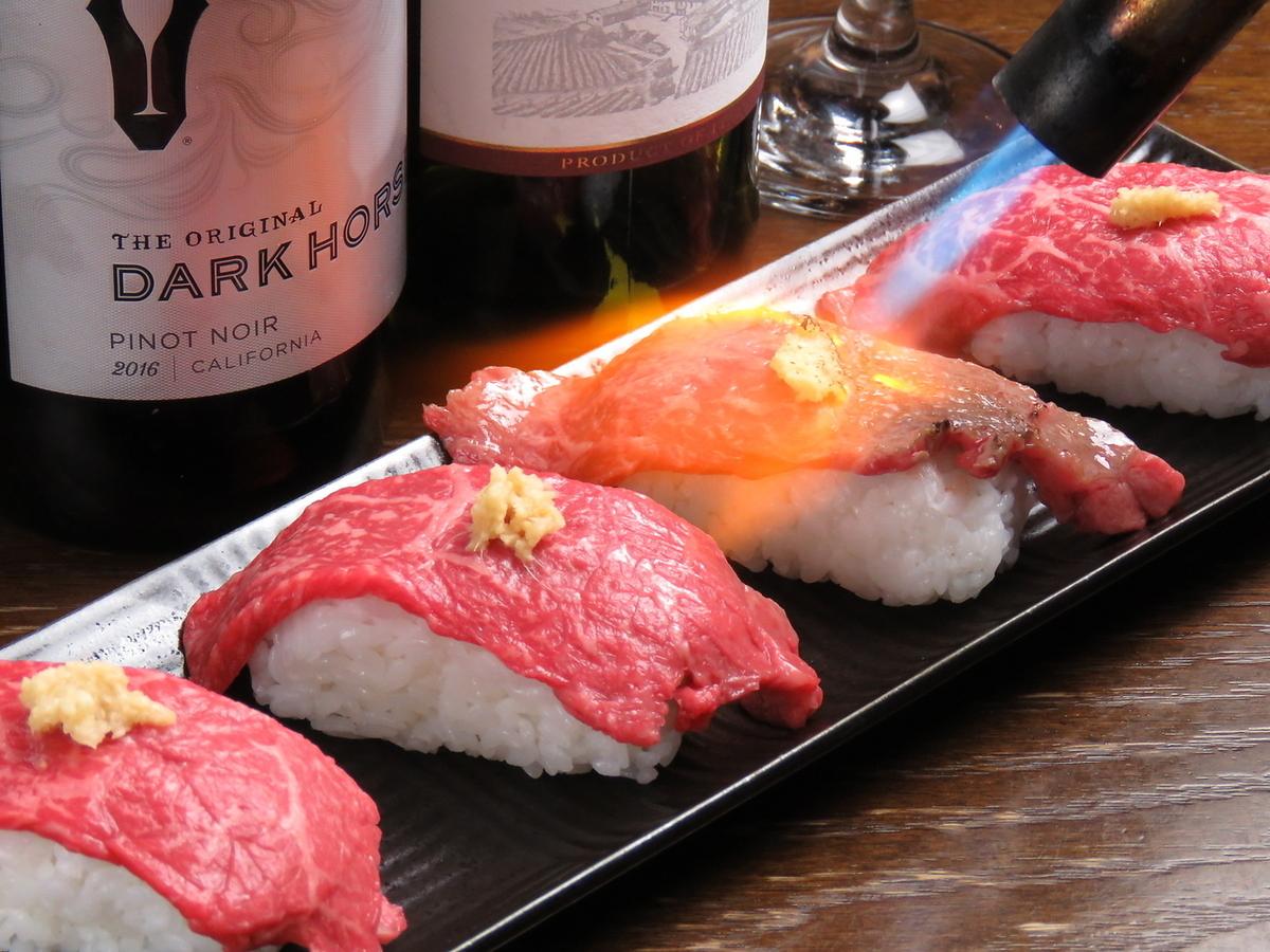 """新年派對套餐限定★""""烤肉壽司""""預訂被接受!"""