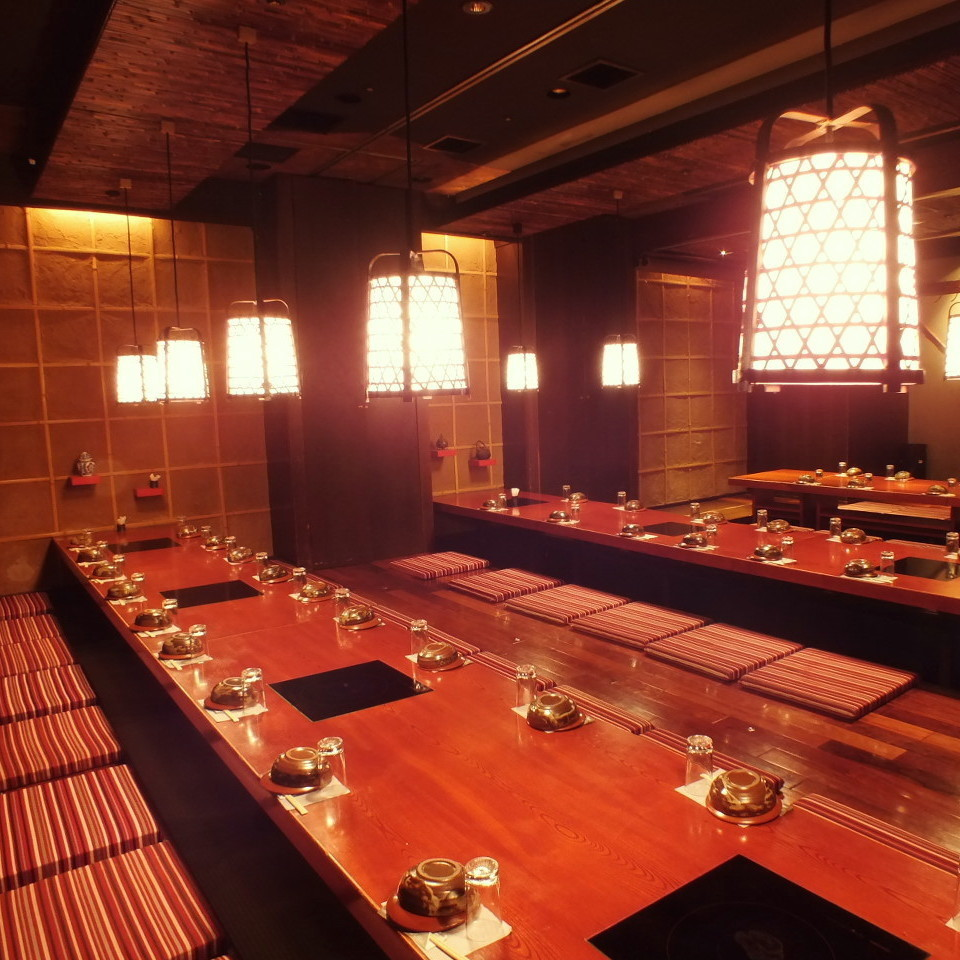 【Banquet up to 50 people OK】 Popular large digging tatocho private room ♪ Company banquet and alumni association ... It is ideal for various gatherings ◎