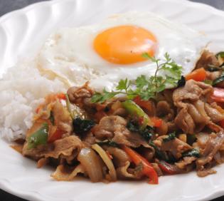 Paakkapao La Cow aka Gapa Rice