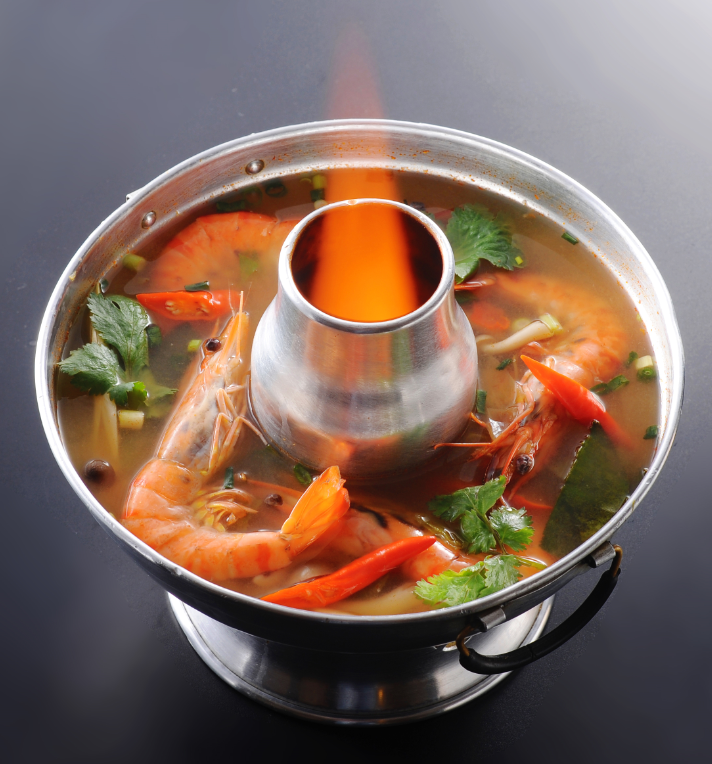 Tom Yam Kung (2 servings) / (half size)
